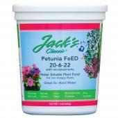 Jack's Classic Petunia Feed $11.99 1 1/2 lb